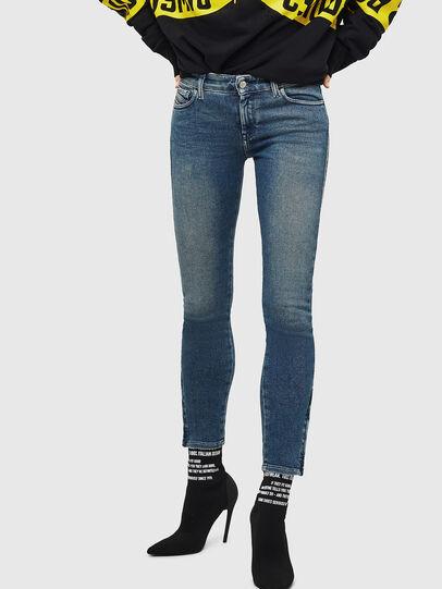 Diesel - Slandy Zip 083AL, Medium blue - Jeans - Image 1