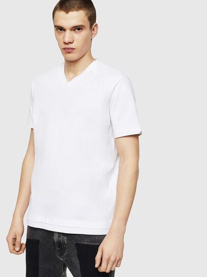 Diesel - T-CHERUBIK-NEW, White - T-Shirts - Image 1