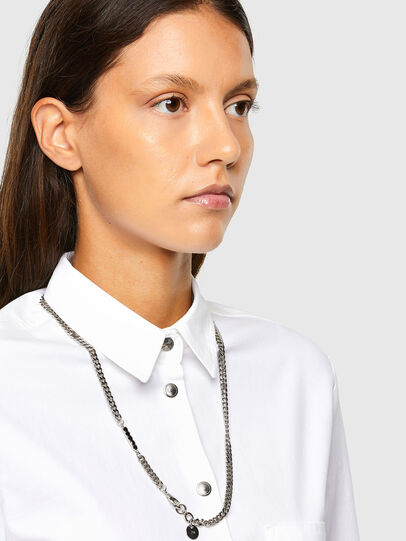 Diesel - C-RENELL, White - Shirts - Image 3