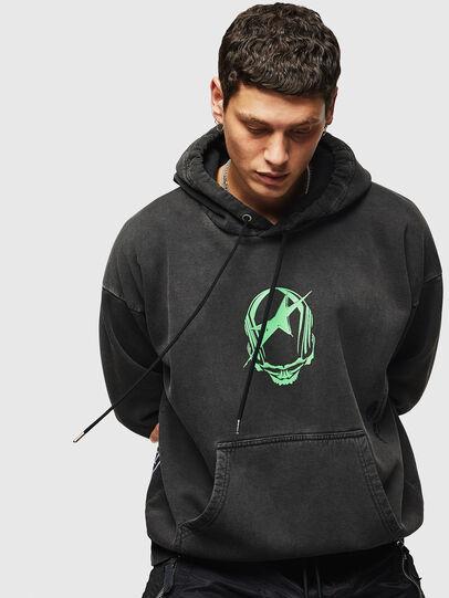 Diesel - S-ALBY-ACID, Black - Sweaters - Image 1