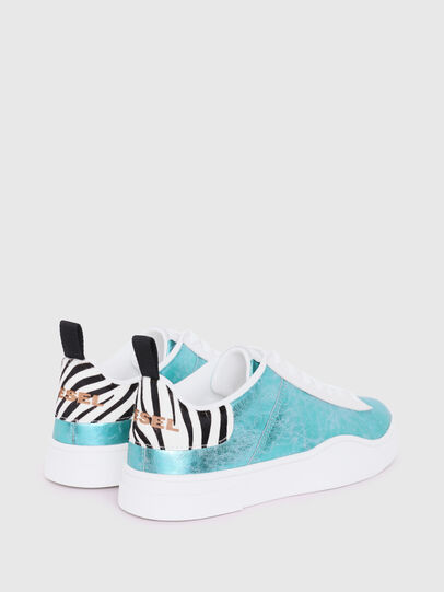Diesel - S-CLEVER LOW LACE W, Azure - Sneakers - Image 3