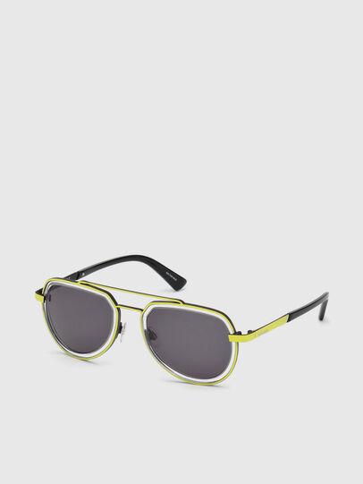 Diesel - DL0266, Yellow - Sunglasses - Image 2