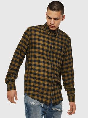 S-VEN-CHECK, Green/Black - Shirts