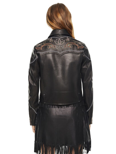 Diesel - LEXIA,  - Leather jackets - Image 2