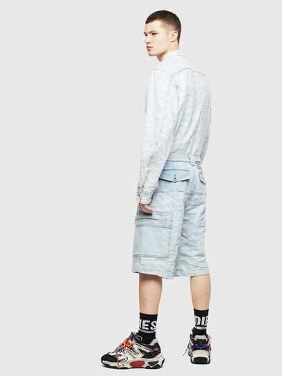 Diesel - D-LUK-SHORT, Light Blue - Shorts - Image 4