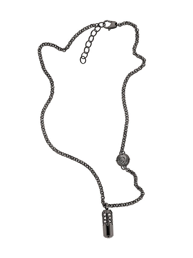 NECKLACE DX1026, Dark Grey