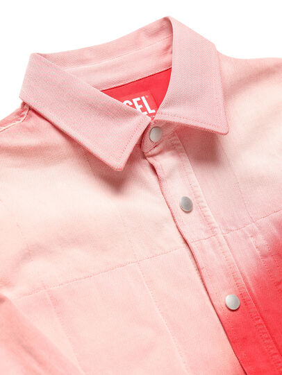 Diesel - GR02-B301, Red/White - Denim Shirts - Image 3