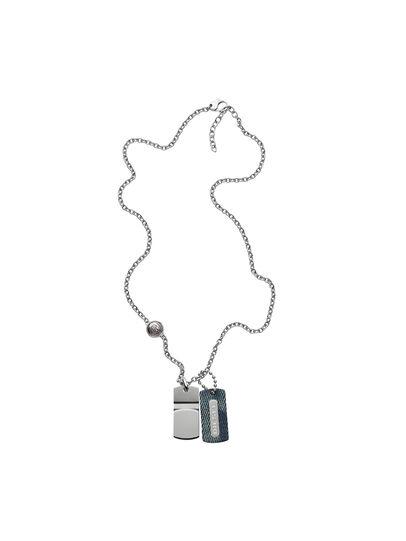 Diesel - NECKLACE DX0980, Blue Jeans - Necklaces - Image 1