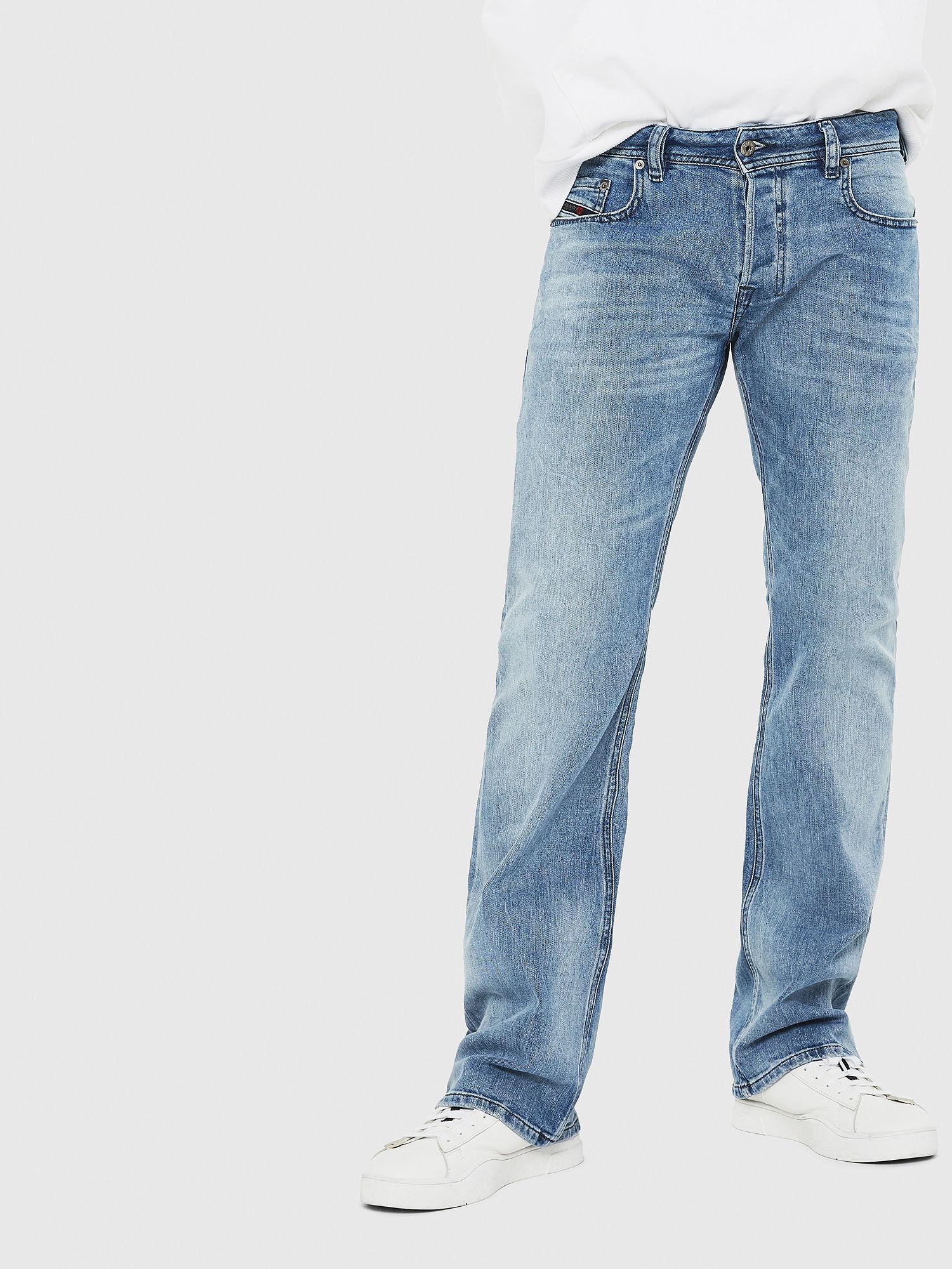 Men: Bootcut Light blue Jeans | Diesel