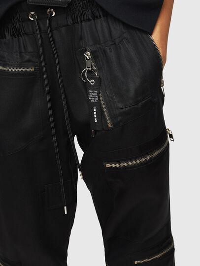 Diesel - P-LEX, Black - Pants - Image 3