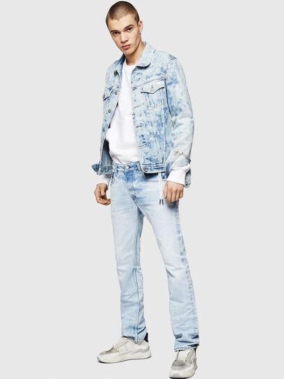 Diesel - D-Ligenz 0078C, Light Blue - Jeans - Image 6