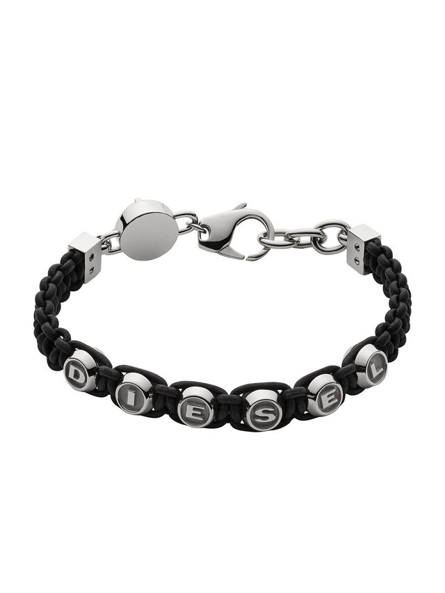 Diesel - BRACELET DX0947, Black - Bracelets - Image 1