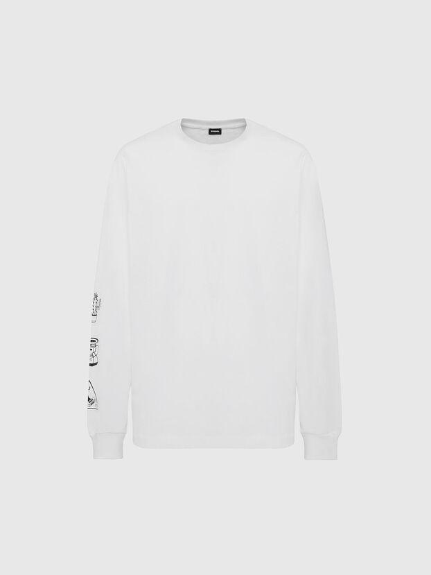 T-JUST-LS-X90, White - T-Shirts