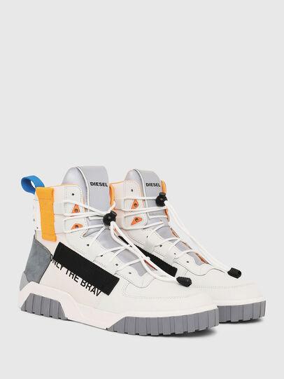 Diesel - S-RUA MID SP, White - Sneakers - Image 2