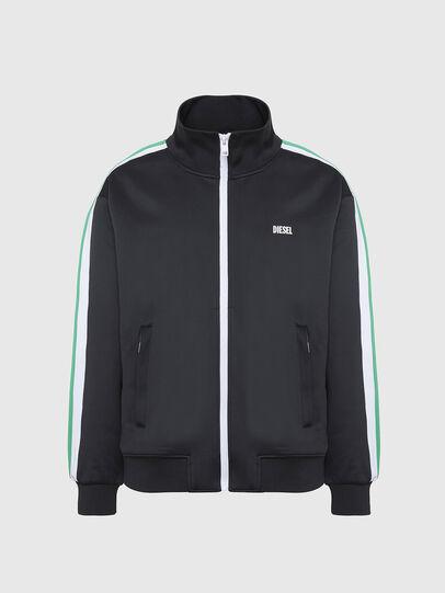 Diesel - S-KRAIM, Black - Sweaters - Image 1