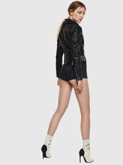 Diesel - L-SINYA-A,  - Leather jackets - Image 6