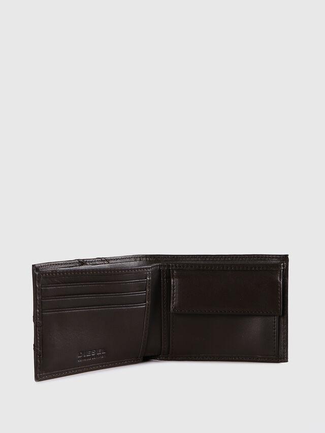 Diesel - HIRESH XS, Dark Brown - Small Wallets - Image 3