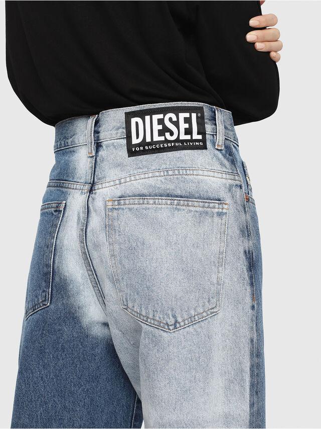 Diesel - Widee 0077V, Medium blue - Jeans - Image 5