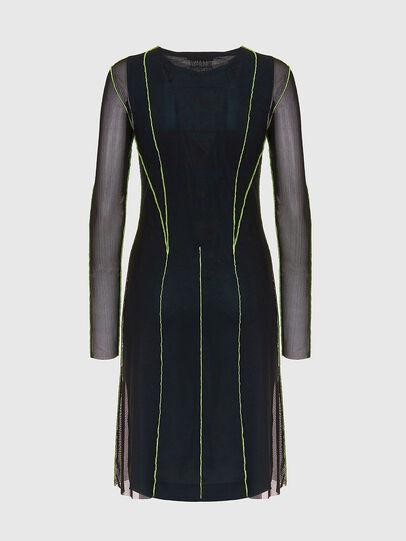 Diesel - D-VINA, Black/Green - Dresses - Image 2