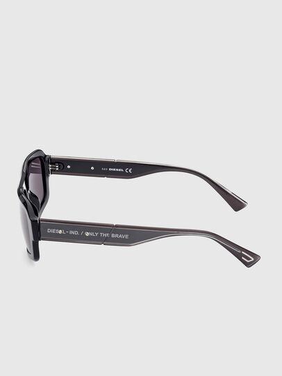 Diesel - DL0348, Black - Sunglasses - Image 3