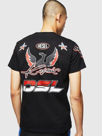 Diesel - ASTARS-T-DIEGO, Black - T-Shirts - Image 2
