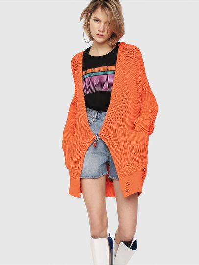 Diesel - M-CRI, Orange - Knitwear - Image 4