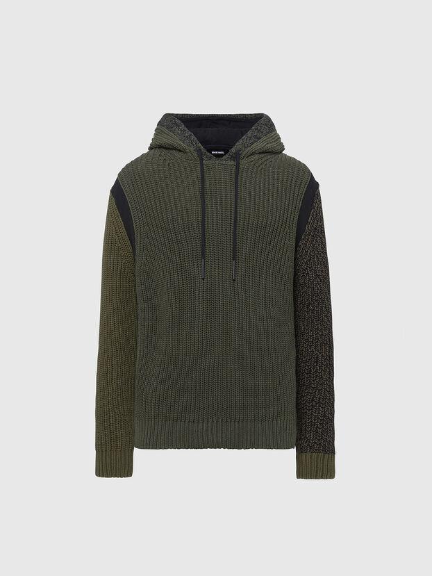 K-CAREY, Military Green - Knitwear