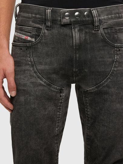 Diesel - D-Dean 009LI, Black/Dark grey - Jeans - Image 3