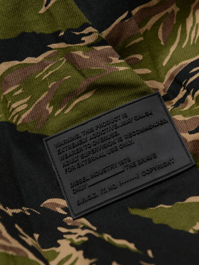 Diesel - CKUTUZOV OVER, Military Green - Shirts - Image 4
