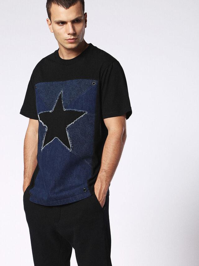 T-DEN-STAR, Black