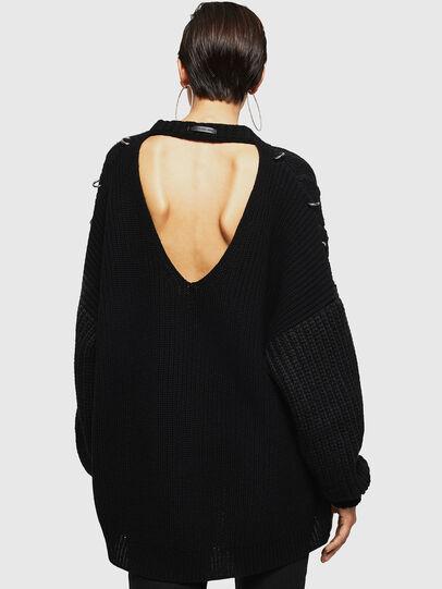 Diesel - MEBLY, Black - Knitwear - Image 2