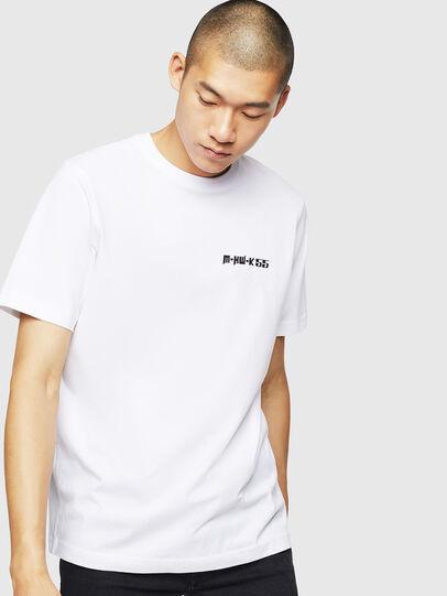 Diesel - T-JUST-B31, White - T-Shirts - Image 1