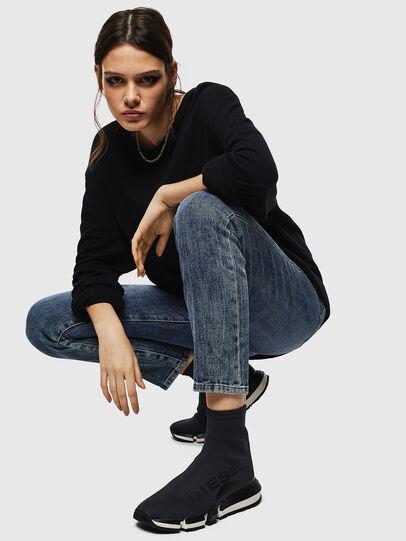 Diesel - H-PADOLA HIGH SOCK W, Black - Sneakers - Image 5