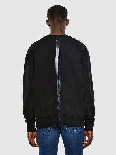 Diesel - S-BIAY-SPLIT, Black - Sweaters - Image 6