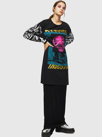 Diesel - T-PAISS, Black - T-Shirts - Image 6
