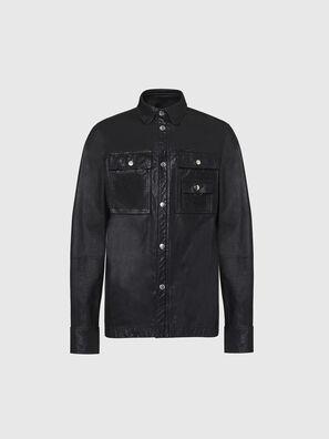 L-MALIK, Black - Leather jackets