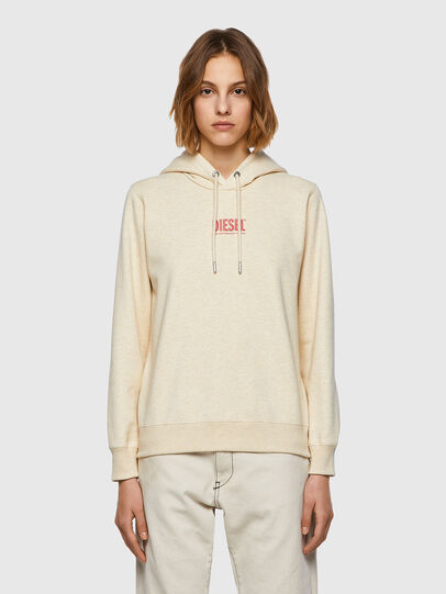 Diesel - F-ANGS-H-ECOSMALLOGO, Pink/White - Sweaters - Image 1