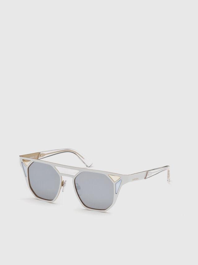 Diesel - DL0249, White - Eyewear - Image 4