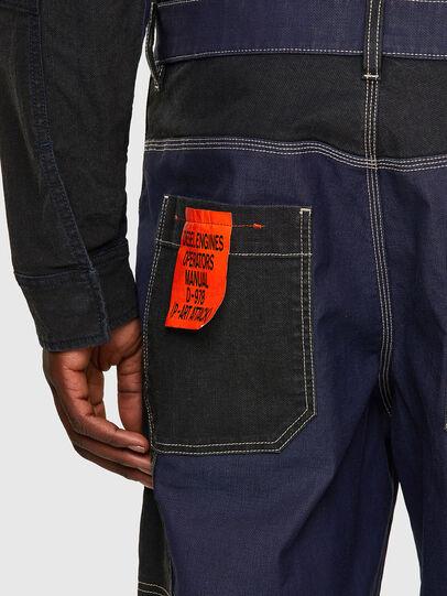 Diesel - D-Franky JoggJeans® 0EEAW, Dark Blue - Jeans - Image 3