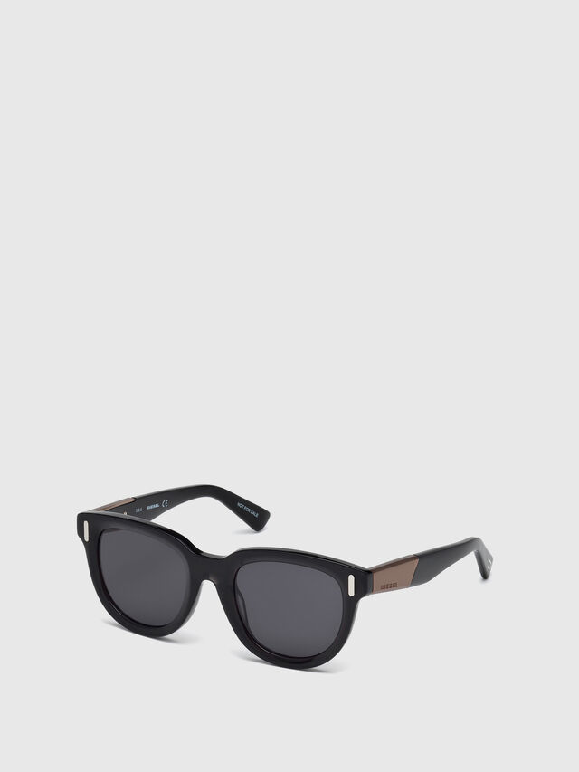Diesel - DL0228, Black - Sunglasses - Image 2