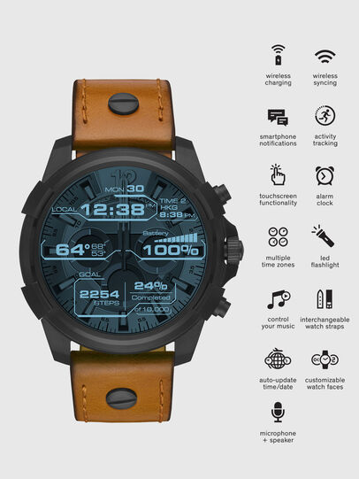 Diesel - DT2002, Brown - Smartwatches - Image 1