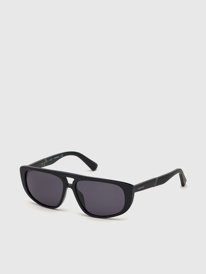 Diesel - DL0306, Black - Kid Eyewear - Image 2