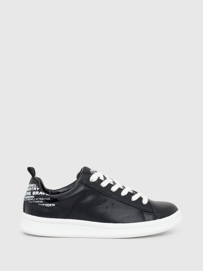Diesel - SN LOW LACE 11 FULL, Black - Footwear - Image 1