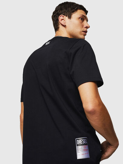 Diesel - T-JUST-B26, Black - T-Shirts - Image 2