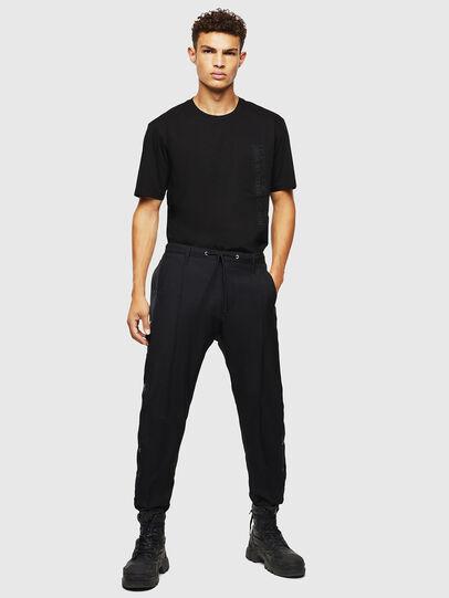 Diesel - T-JUST-POCKET-J1, Black - T-Shirts - Image 5