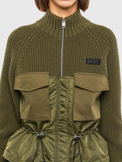Diesel - M-EKA, Military Green - Knitwear - Image 3