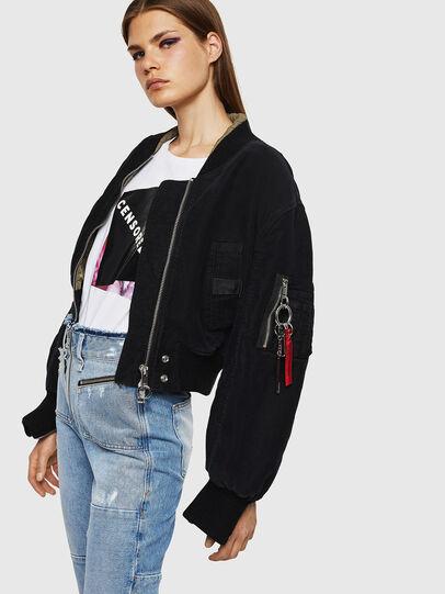 Diesel - W-LESKY, Black - Winter Jackets - Image 5