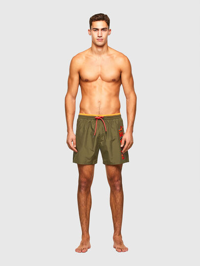 Diesel - BMBX-WAVE 2.017, Military Green - Swim shorts - Image 1