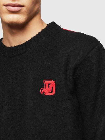 Diesel - K-CASY, Black - Knitwear - Image 3