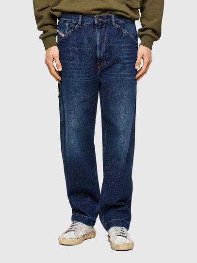 Diesel - D-Franky 009NE, Dark Blue - Jeans - Image 1